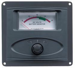 Panel voltmeter analog x 3 12V only