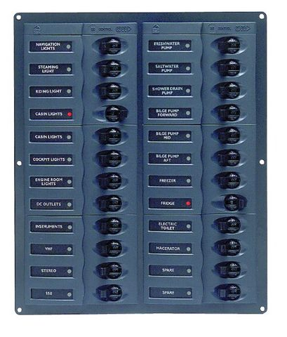 Distr panel DC BEP905NMV24(2x12)nometer+
