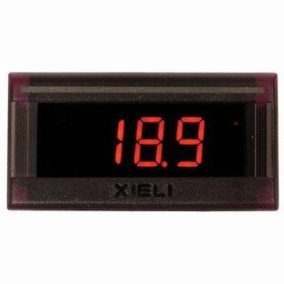 Ammeter DC 50A digital 42x23 shunt incl