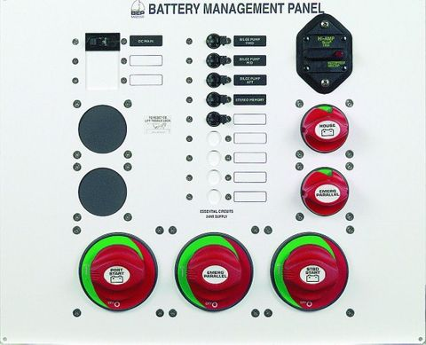 Panel Battery Management BEP 800-MS3+