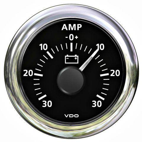 Ammeter VLB 0-30A 12/24V 60mA shunt reqd