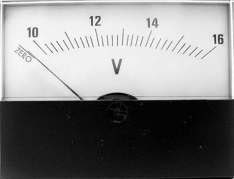 Panel meter DCV 500-0-500mV 58X76mm +