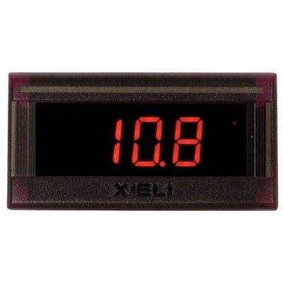 Voltmeter 0-30VDC digital 42x23