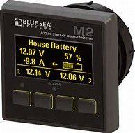 Battery monitor BS M2 OLED DC SOC#