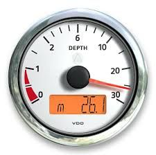 Depth Indicator VLB d85mm0-30m 12/24Vbk+