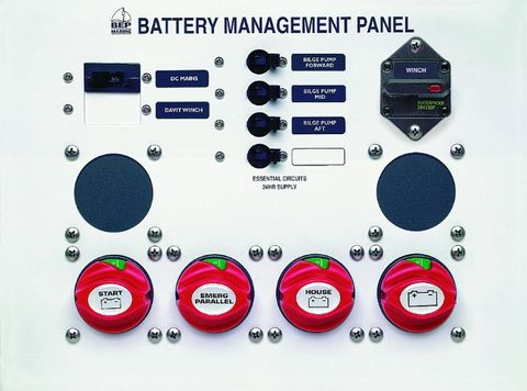 Panel Battery Management BEP 800-MS1+