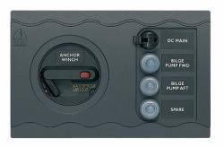 Panel BEP CC804 1module winch, main +3CB