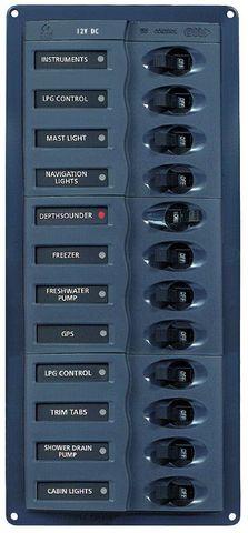 Distr panel DC BEP902NMV (1x12)nometer+