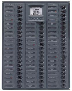 Distr panel DC56 digi meter +