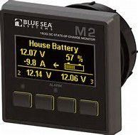 Battery monitor BS M2 OLED DC SOC#