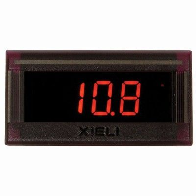 Small Digital Panel Voltmeter