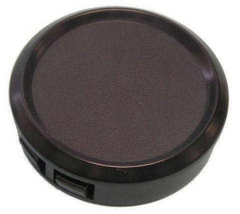 Blanking plate 52mm black