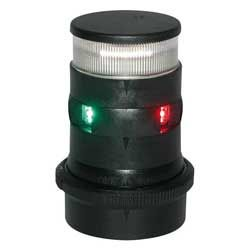 Light nav AQS34 LED tri-anchor black +