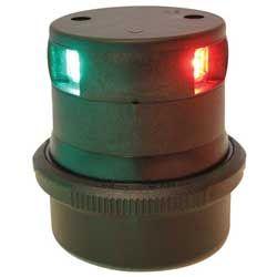 Light nav AQS34 LED tricolour black +