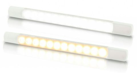 Light LED HEL strip no switch cw 12V+