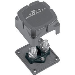 Distribution studs 2xM10 in housing