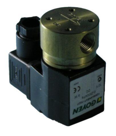 Valve gas solenoid 1/4BSP 12V 0,75A+