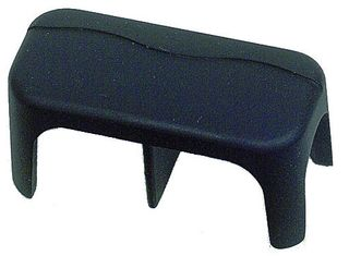 Cover for distribution stud 2x06mm black