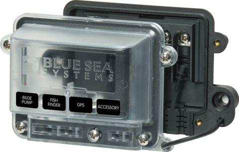 BusBar WR BS 100A 4x4mmSC 1x5mmST w cov