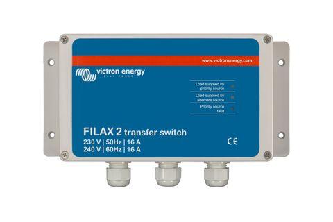 Transfer switch VIC Filax-2 230V50Hz16A+