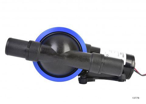Pump JABSCO diaphragm waste 12V+