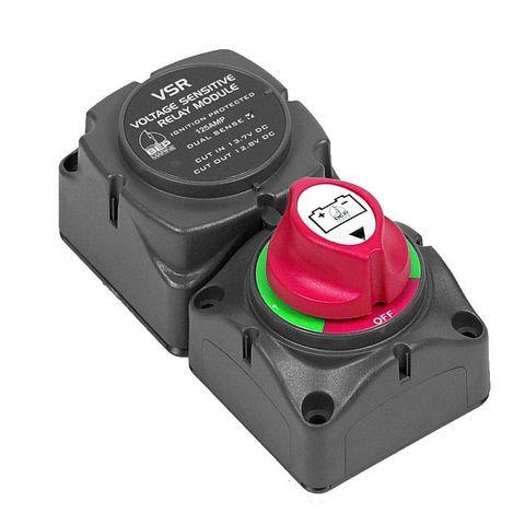 Battery switch cluster 1/1+2/2 w DS VSR+