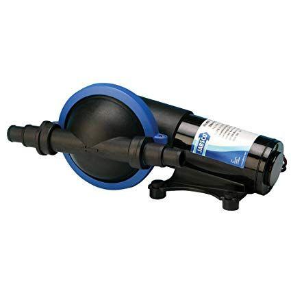 Pump JABSCO diaphragm shower/bilge 12V+