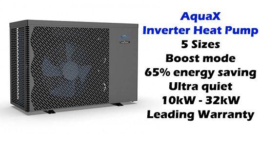 AquaX Inverter Heat Pump