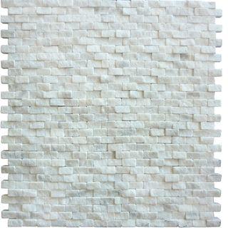 10x20 SPLITFACE Bianco Carrara