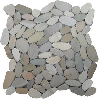300x300 Olive SLICED Pebbles