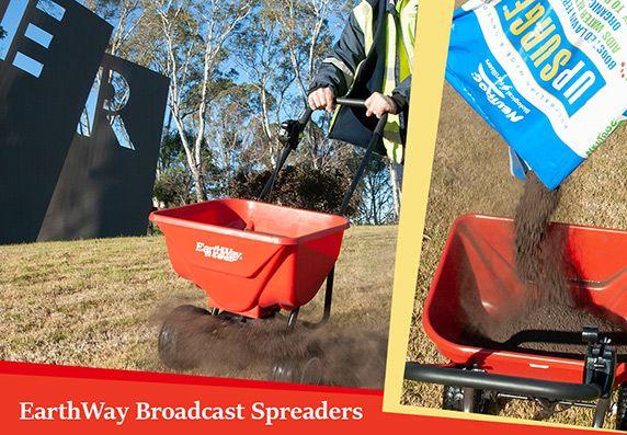 EarthWay Broadcast Spreaders - 20kg and 45kg models