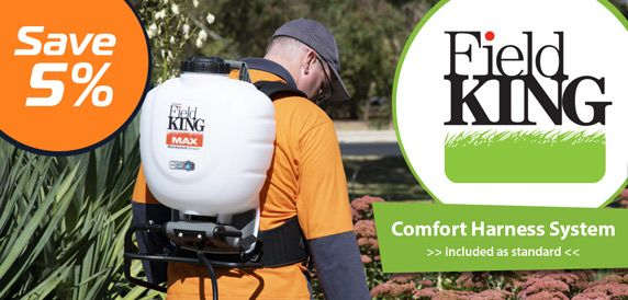 Save 5% Field King 15L Professional Backpack Sprayers - Comfort Harness Included
