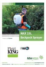 Fieldking Professional Backpack Sprayer 15L