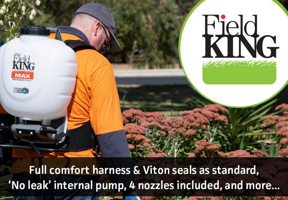 Field King 15L Professional Backpack Sprayers - Comfort Harness Included - No Leak System