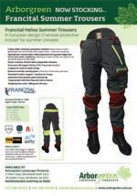 Francital Helios Chainsaw Trousers