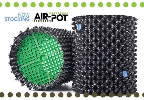 Now Stocking the original AIR-POT Root Pruning Tree Pot