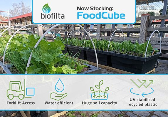 Now stocking Foodcube - Recycled UV Stabilised Plastic - Made in Australia