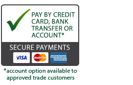 Secure Payments by NinjaPay. We accept VISA, Mastercard & AMEX.