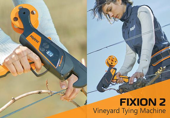 FIXION 2 Vineyard Tying Machine by Pellenc