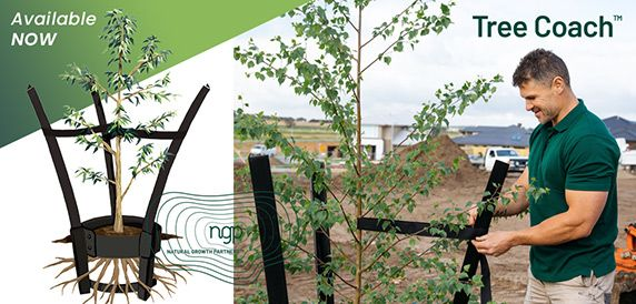 Now available - Tree Coach Tree Staking System