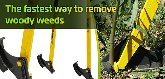Tree Popper - the fastest way to remove Woody Weeds!