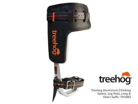 Treehog Aluminium Climbing Spikes, Leg Pads, Long & Short Gaffs