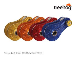 Treehog Quick Release 100kN Pulley Block