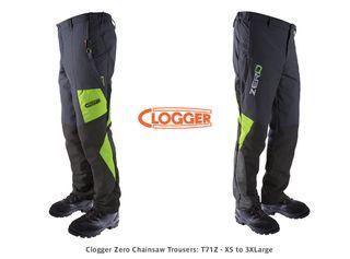 Clogger Zero Trousers, 2XLarge (107-113cm)