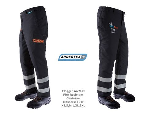 Clogger ArcMax Fire Resistant Chainsaw Trousers