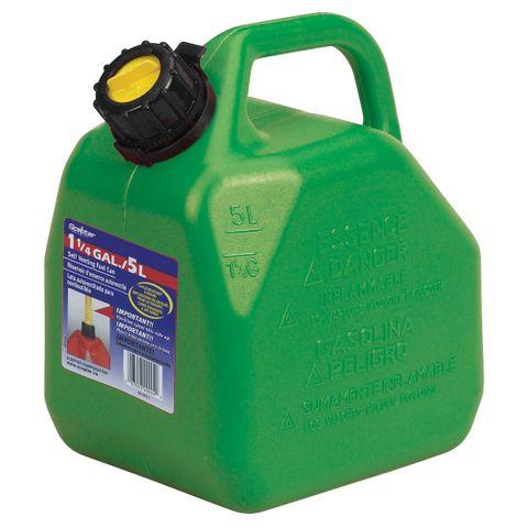 Scepter 5L Green 2 Stroke Fuel Can