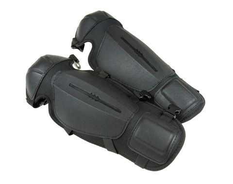 KNEE & Shin Guards, Molded Plastic Style