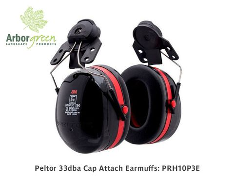 Peltor 33dba Cap Attach Earmuffs To Suit Petzl & Kask Helmets