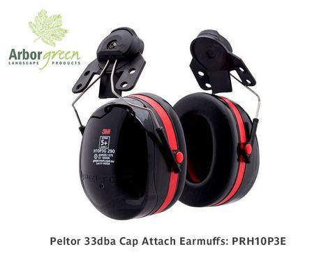 Peltor 33dba Cap Attach Earmuffs To Suit Petzl & Kask Helmets
