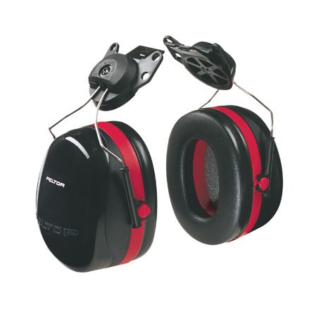 PELTOR 33dB Cap Attach Earmuffs to Suit Airflow Helmets